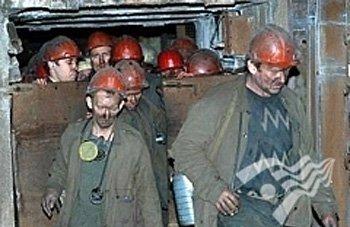 Спасатели эвакуировали шахтеров