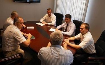 В мэрии Ужгорода обсудили реконструкцию площади Кирпы