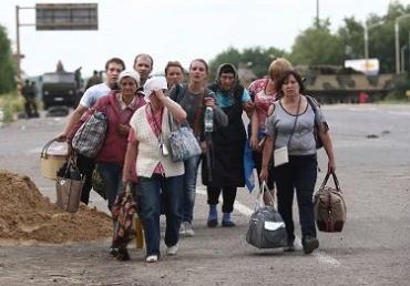 В Украине зарегистрировано более 1,5 млн переселенцев