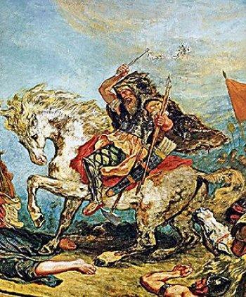 Аттила объединил варварские племена от Рейна до Северного Причерноморья