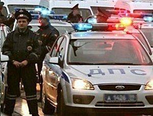 Семь машин столкнулись в Москве, есть жертвы