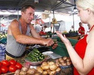 Цены на продукты питания в августе снизились на 1,2%