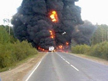 ЧП случилось на трассе Салым-Уват