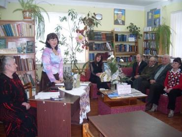 Тетяна Грицищук презентує свою книгу творчому бомонду Перечина