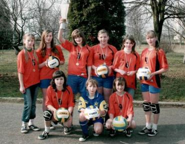 Волейбольна команда дівчат Ужгородської ДЮСШ