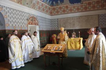 Каплиця Трьох святителів в Ужгородському замку