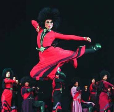 Національний балет Грузії привіз в Ужгород любов і війну