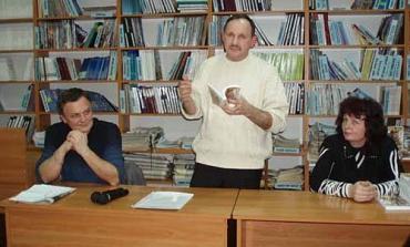 В Ужгороді Мирослав Дочинець презентував новий детективний роман