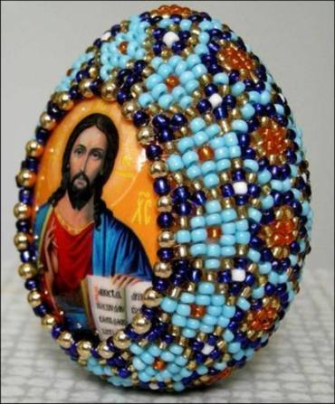 Главный сувенир - пасхальное яйцо
