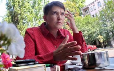 Савченко розповіла про своє політичне майбутнє