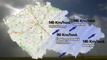 Над Чехией пронесся ураган