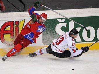 Россия - Швейцария 4:2