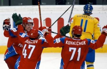 Россия – Швеция – 6:5