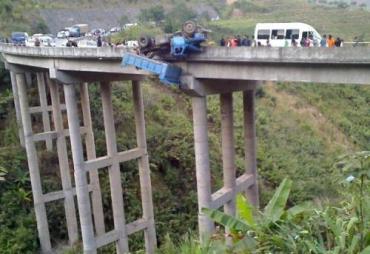 Китайцам везет, когда проезжают мосты