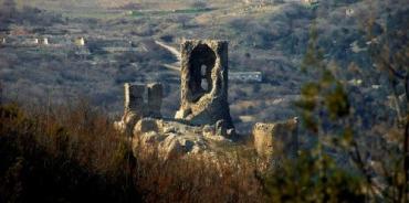 Возрождение Вечного огня возле башни Малахова кургана