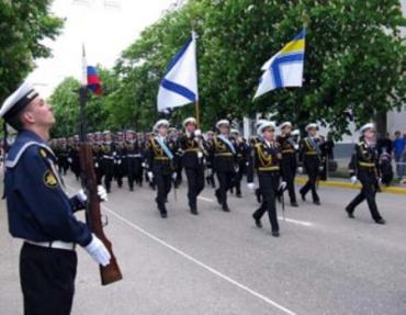 Парад Победы прошел в Севастополе