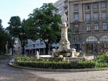 Свидание со Львовом на площади Мицкевича
