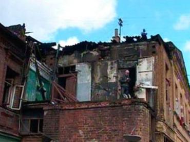 Взрыв газа в украинской многоэтажке