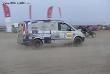 Одержать победу в пустыне Марокко помогла передовая техника Mеrcedes-Benz