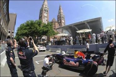 Шоу Red Bull в городе Сегед