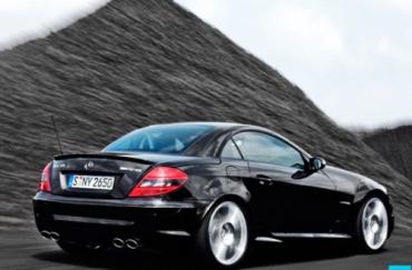 Mercedes-Benz SLK55 - самый экономичный