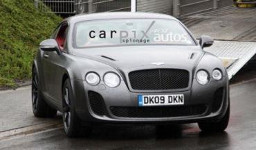 Bentley Continental Supersports - экологичный суперкар