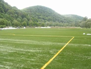 Спортивный комплекс недалеко от Камелота