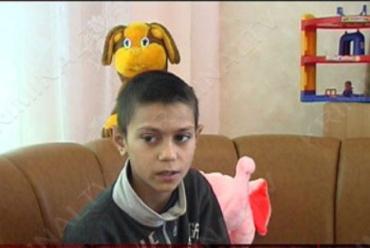 Мальчик Саша рассказал в милиции о том, что попрошайничает с шести лет