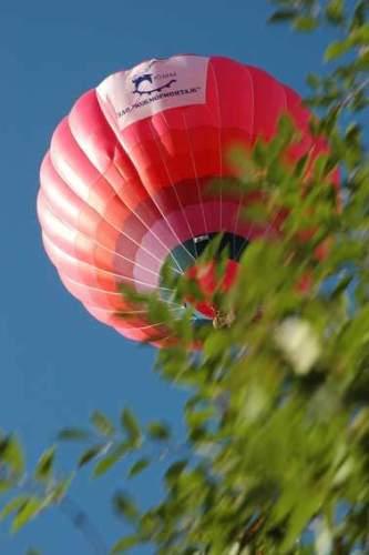 Воздушный шар упал с 200-метровой высоты