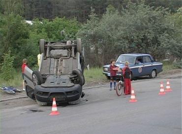 В Киеве BMW отправил Fiat в нокаут