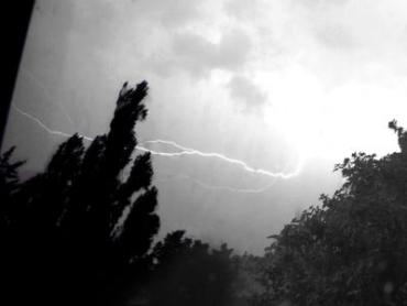 В Ужгороде ночью ожидается сильный ливень