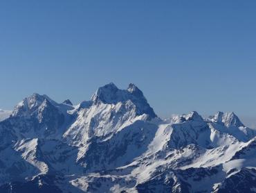 Мукачівка Ірина Галай подолала вершину Ушба на Кавказі.