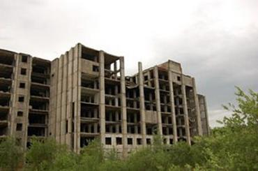 Закарпатье. Остатки недостроенной Пистряловской РЛС в Мукачевском районе