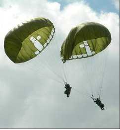 План перелета контрабандных парашютов провалился