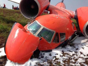 В Гвінейській затоці, звалився український вантажний літак