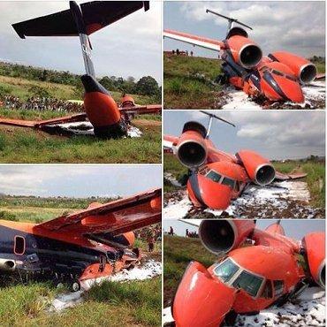 Самолет украинской авиакомпании CAVOK Air потерпел крушение на острове Сан-Томе