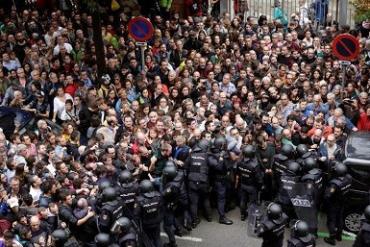 В Каталонии провели референдум о независимости