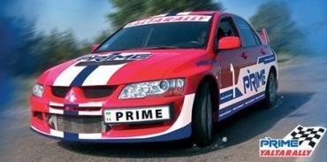 Украинский экипаж победил на ралли Prime Yalta Rally 2009