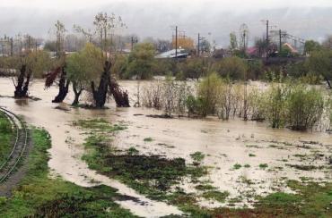 Наслідки найбільших дощів останнього десятиліття на Закарпатті.