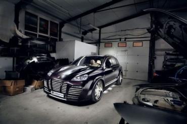 Двигатели Porsche Cayenne прокачали до 700 л.с.