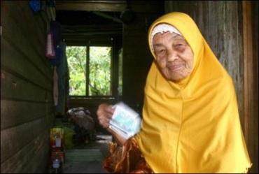 107-летняя малайзийка подыскивает себе нового мужа - 23-го по счету