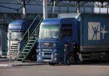 На границе в Ужгороде очередь из грузовиков