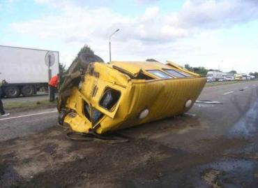 ДТП на трассе Киев-Чоп: травмированы пять человек