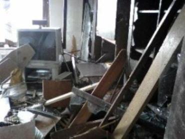 В Мелитополе подорвали банк