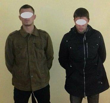 На границе в Закарпатье задержали двух днепропетровцев
