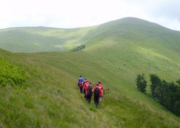 Туристу в горах Закарпатья потребовалась помощь спасателей