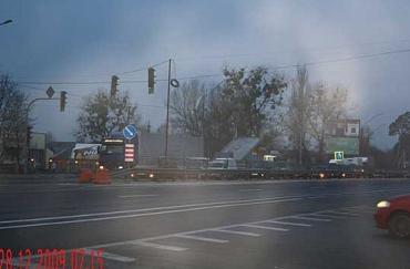 Пробки на трассе Киев-Чоп на руку только работникам ГАИ