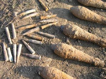 На Закарпатті ще багато небезпечні знахідок, які залишилися за часів війни
