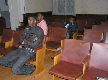 Сомалийские парни хотели спастись от пиратства в Ужгороде