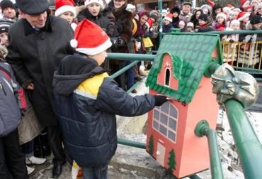 В Ужгороді відкрили офіційне представництво Святого Миколая